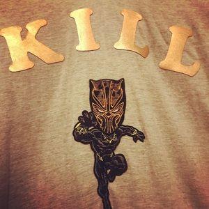NWT Custom Killmonger Charicature T-Shirt XL